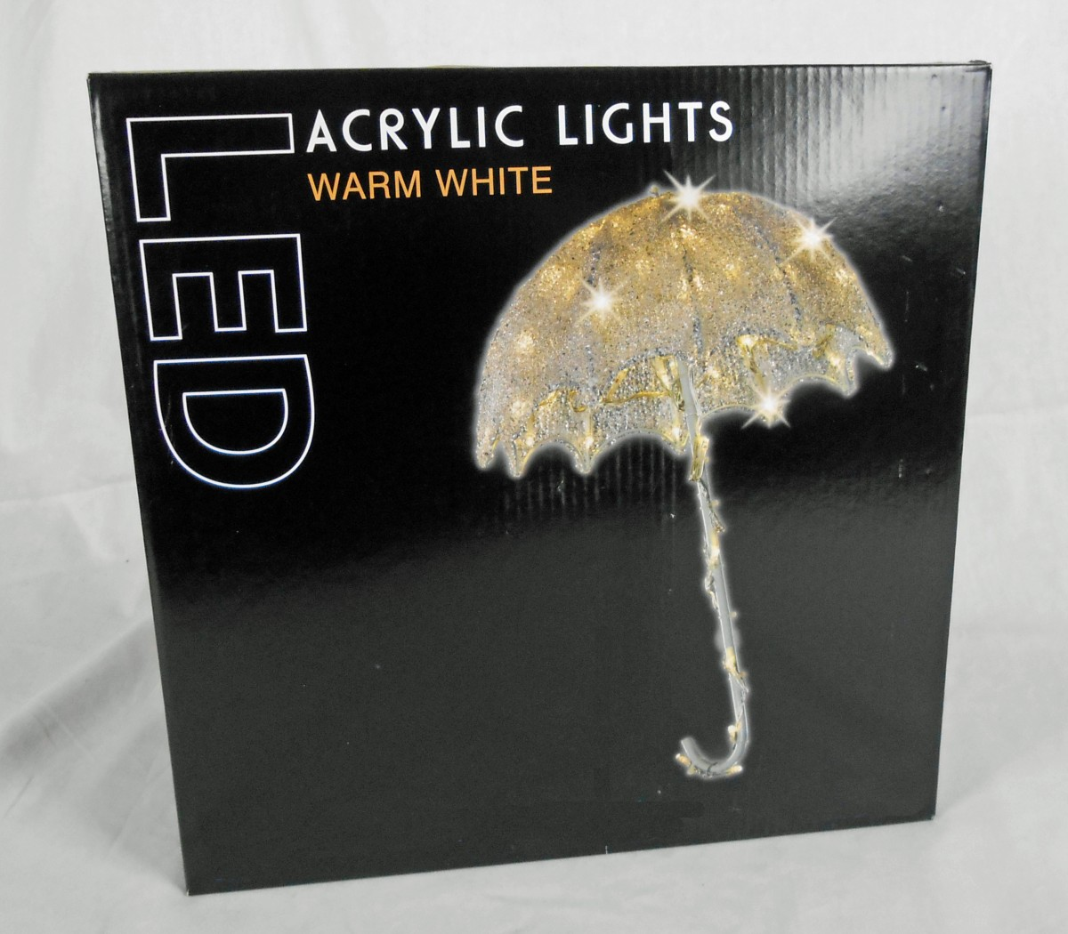acryl regenschirm mit led s 92 4904. Black Bedroom Furniture Sets. Home Design Ideas